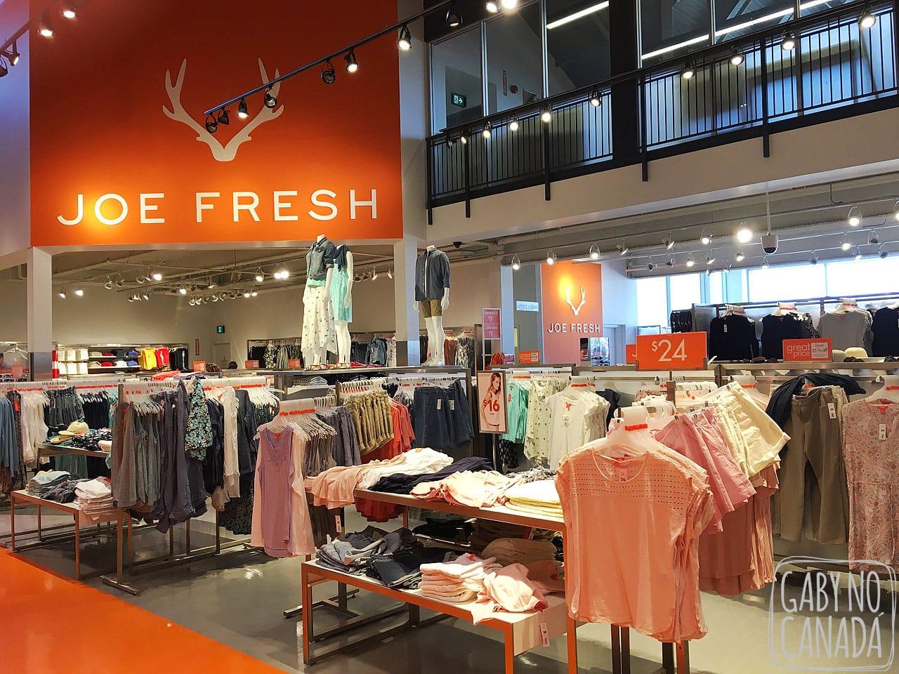 97088ed89 A Joe Fresh é uma marca de roupas canadense da rede de supermercados Loblaws  que lembra muito a GAP